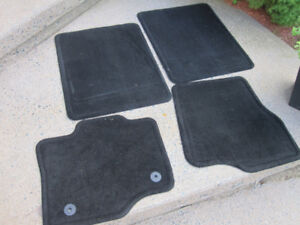 "Ford F-150 S Floor Mats 2015-18 - Carpeted, Black, 4-Piece ""NEW"""