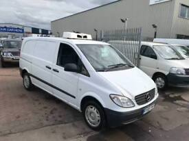 59 MERCEDES VITO 111 CDI CHILLER VAN SUPERB DRIVE AND COND READY TO GO NO VAT !!
