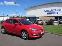 VAUXHALL ASTRA 1.4 EXCLUSIV 2013 (62) FINANCE AVAILABLE