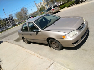 WOW! Toyota 2002 No rust / Not driven in winter