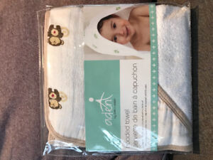 Brand new Aden + Anais hooded towel