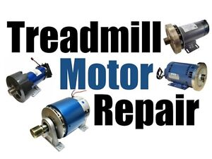 Treadmill motor repair, rebuild, recondition back to new again.