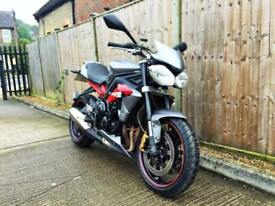 2013 Triumph Street Triple 675 ABS (95hp) Naked 675cc ONLY 15K