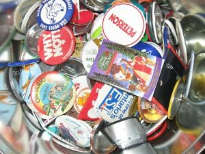 Collection of Buttons and Badges