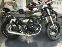 Brand New Bullit Spirit 125 Cafe racer