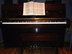 Kawai Upright Piano perfect for small room or apartment!