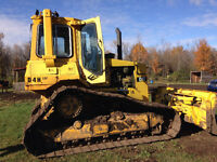 bulldozer D4H CAT
