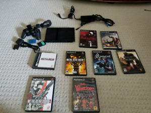 PS2 - Console + Games