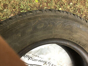A SET OF 4 WINTER TIRES! Edmonton Edmonton Area image 8