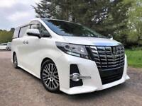FRESH IMPORT NEW SHAPE 2015 15 PLATE TOYOTA ALPHARD,VELLFIRE 3.5 V6 EXECUTIVE