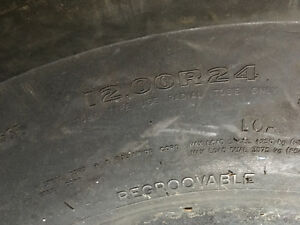 12.00R24 TRUCK TIRE FOR SALE