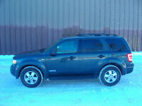 2008 Ford Escape XLT SUV All Wheel Drive