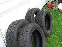 4 like-new winter tires-reduced!