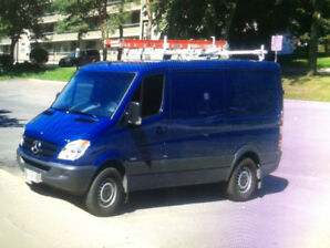 *BLUE 2013 Mercedes Benz Sprinter van 2500*
