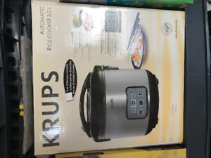Krups Rice cooker-  new in box!