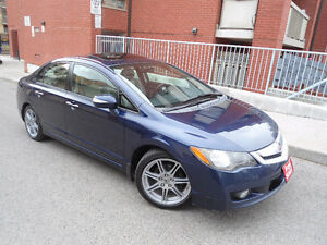 2009 ACURA CSX PREMIUM , LEATHER , SUNROOF , FOG LIGHTS, ALLOYS!