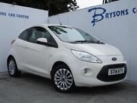 2014 14 Ford Ka 1.2 ( 69ps ) Zetec for sale in AYRSHIRE