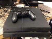 Sony ps4 with 2 month warranty
