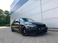 2013 13 reg BMW 320d M Sport Auto + BLACK + M PERFORMANCE KIT + LEATHER +