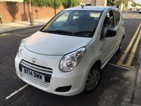 Suzuki Alto 1.0 2014 WHITE LW MILES+0 TAX+CHEAP INSURANCE+JUST SERVICED