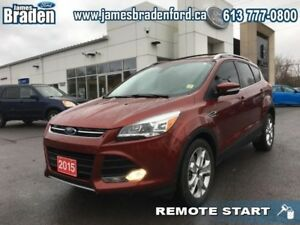 2015 Ford Escape TITANIUM  - Leather Seats -  Bluetooth