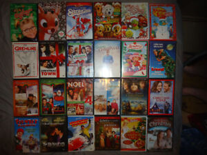 CHRISTMAS DVDS AND BLURAYS......LOTS BRAND NEW SEALED
