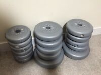 Weight plates York Vinyl coated