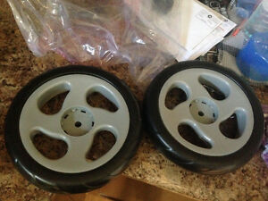 Joovy Caboose rear wheel kit replacement parts-$30