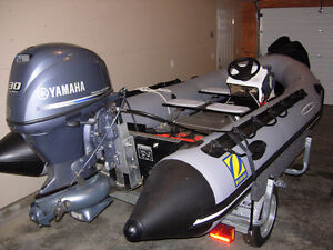 Barely Used Inflatable Boat