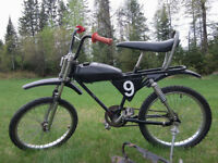 3 Vélocross Motocross Vintage Antique Old School Bicycle RARE