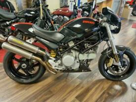 Ducati Monster 800 S2R Stripe Cambelts Done Full Arrow Exhaust Marchesini Brembo