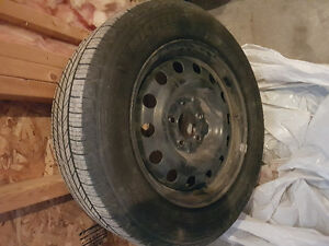 Michelin Defender tires - set of 4 on rims