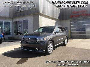 2014 Dodge Durango Citadel  - Bluetooth -  sunroof -  power seat