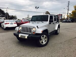 2009 JEEP WRANGLER SAHARA UNLIMITED-1Owner-NoAccidents-Hardtop