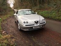 2001 Alfa Romeo gtv 2.0 T spark new mot