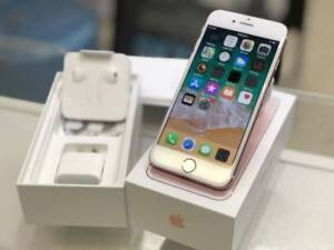 IPHONE 7 128GB ROSE GOLD APPLE WARRANTY TAX INVOICE Surfers Paradise Gold Coast City Preview