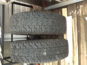Ford F150 2 snow tires on rims