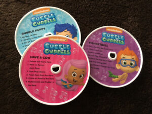 Bubble Guppies CD player
