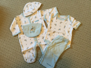 Newborn Peter Rabbit Layette Set