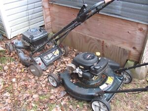 Two Lawn Mowers