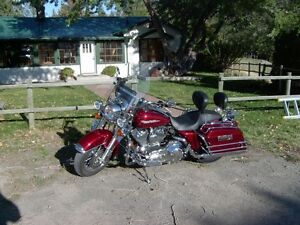 Harley Road King Custom - fully loaded