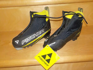 New - Kid Fischer Xj Sprint Cross Country Ski Boots