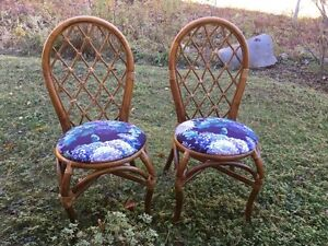 2 Wicker Chairs for $25