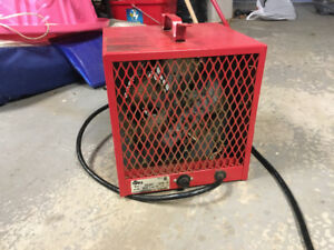 Used Portable Garage/construction heater- working condition!