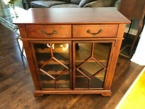 2-door wine rack / storage hutch for sale