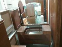 Dressing Table With Mirror - Can Deliver For £19