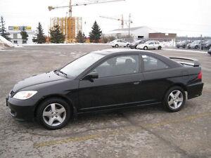 2004 Honda Civic EX SPORT Coupe (2 door)-AUTO--EXCELLENT SHAPE