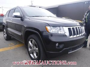 2012 JEEP GRAND CHEROKEE OVERLAND 4D UTILITY 4WD OVERLAND