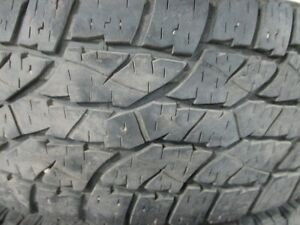 2 WILD COUNTRY XTR SPORT LT285/70R17 10 PLY TIRES