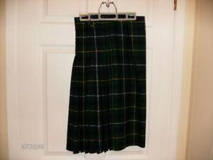 Women's Custom Made MacNeil Clan Tartan Wool Kilt